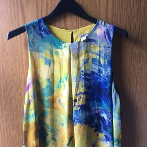 H&M Print Dress Size 14